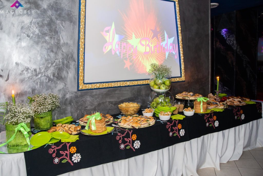 festa 18 anni roma buffet