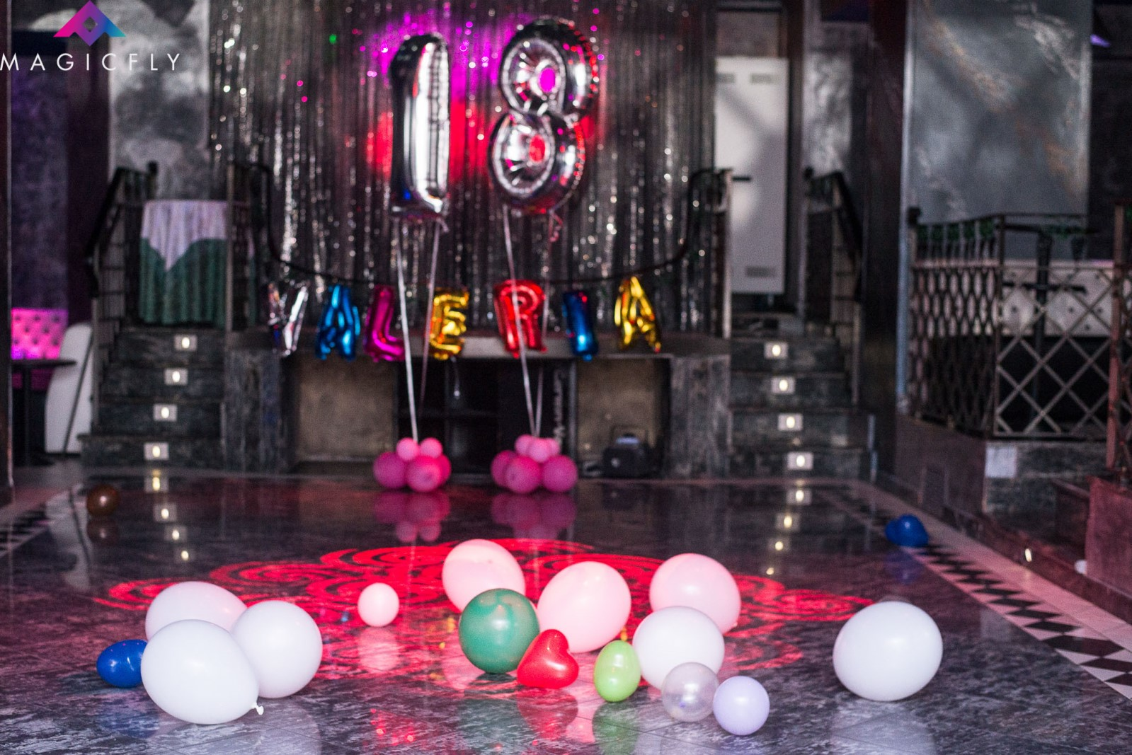 festa 18 anni in discoteca al Magic Fly